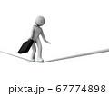 綱渡り状態のハイリスクなビジネス 67774898