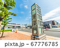 東京の都市風景 東京都中央卸売市場 豊洲市場 青果門 67776785