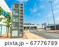 東京の都市風景 東京都中央卸売市場 豊洲市場 青果門 67776789