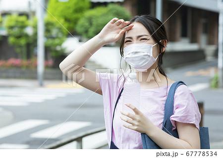 マスク 夏 女性 67778534