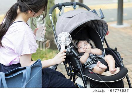 モバイルファン ママと赤ちゃん 67778687
