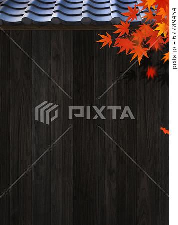 秋の日本をイメージした背景素材 67789454