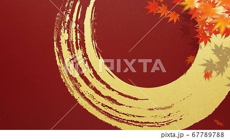 日本の秋をイメージした素材 67789788