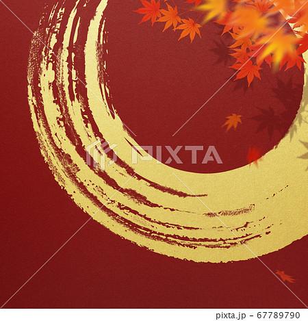 日本の秋をイメージした素材 67789790