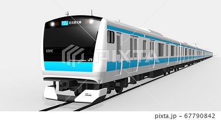 京浜東北線3DCG(各駅停車 右側) 67790842