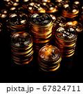 Bitcoin gold coin 67824711