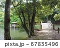 松江市 藩政時代の遺産 藩主の別荘跡と馬場 67835496