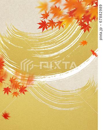 日本の秋の背景 67882989