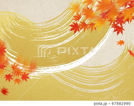 日本の秋の背景 67882990