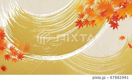 日本の秋の背景 67882991