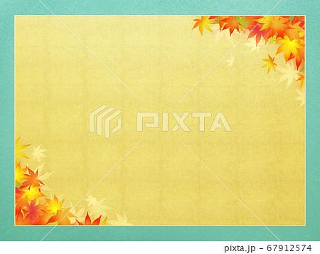 秋のフレーム素材 67912574