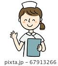 女性看護師 67913266