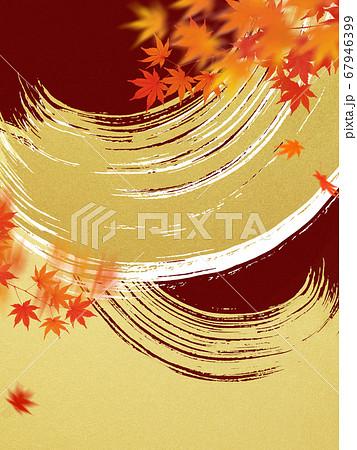 日本の秋をイメージした素材 67946399