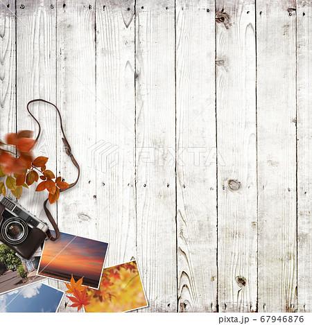 秋の思い出をイメージした背景 67946876