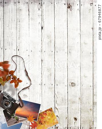 秋の思い出をイメージした背景 67946877