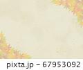 もみじと和紙のフレーム 67953092