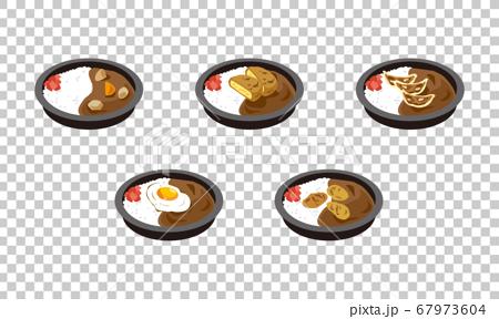 一套5個日本咖哩午餐盒帶回家 67973604