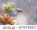 picnic with wine 67979455