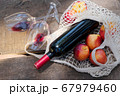 picnic with wine 67979460