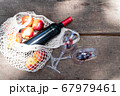 picnic with wine 67979461