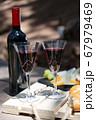 picnic with wine 67979469