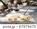 picnic with wine 67979470