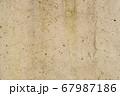 コンクリートの壁 素材にどうぞ 67987186