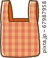 赤のエコバッグ 67987958