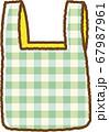 緑のエコバッグ 67987961