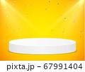 Podium and Confetti Winner 67991404