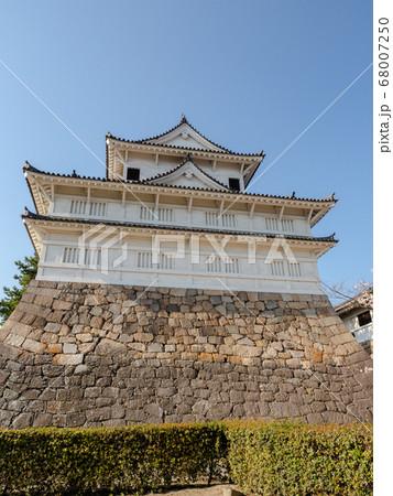 広島県福山市 福山城の国指定重要文化財伏見櫓 68007250