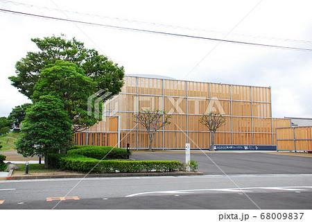 「ふじのくに茶の都ミュージアム」の建物(静岡県島田市) 68009837