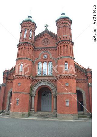 レトロ感漂うカトリック教会天主堂 今村カトリック教会 68024425