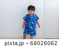 甚平を着た男児 幼児 68026062