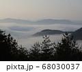 虎ヶ峰からの雲海① 68030037
