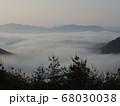 虎ヶ峰からの雲海② 68030038