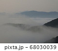 虎ヶ峰からの雲海③ 68030039