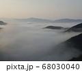 虎ヶ峰からの雲海④ 68030040