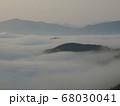 虎ヶ峰からの雲海⑤ 68030041