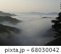 虎ヶ峰からの雲海⑥ 68030042
