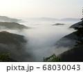 虎ヶ峰からの雲海⑦ 68030043