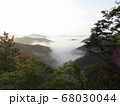 虎ヶ峰からの雲海⑧ 68030044