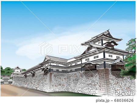 金沢城 68036626