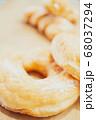 リング ドーナツ アップ ツイスト ボケ ぼかし 木目 ナチュラル 自然 素朴 おしゃれ 雑誌  68037294