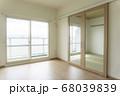 リフォーム 後 和室 リビング 和 モダン おしゃれ 二重 窓 白 クロス 壁紙 床材 畳 不動産  68039839