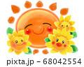 太陽とひまわり 68042554