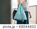 エコバッグを持ち歩く女性 68044832