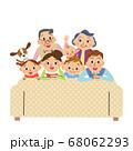 ソファー 三世代家族 お家時間 幸せ 68062293