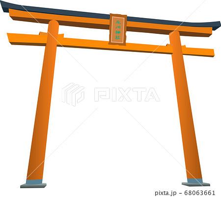 川越氷川神社 鳥居 68063661