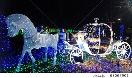 足立の光の祭典2019・カボチャの馬車 68067901
